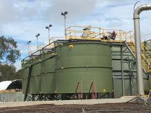 Waterex HRC040RV clarifiers supplied to the Craig Mostyn Group